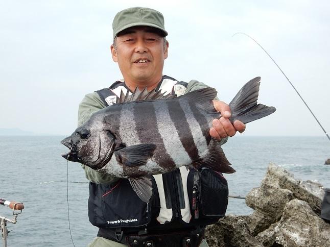 52.0cm/2.90kg猪瀬にて中山 秀憲氏