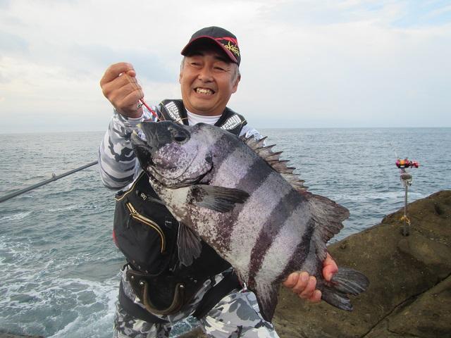2018.09.02中山 秀憲60.0cm/3.90kg長島にて